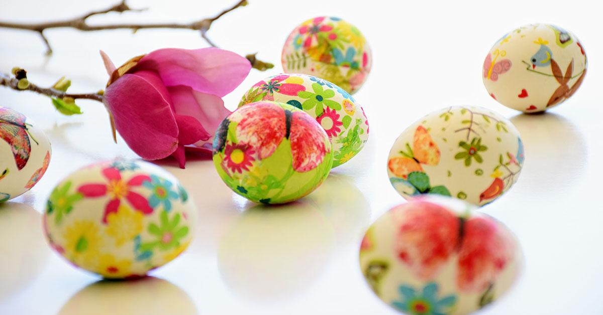 easy egg decorating ideas